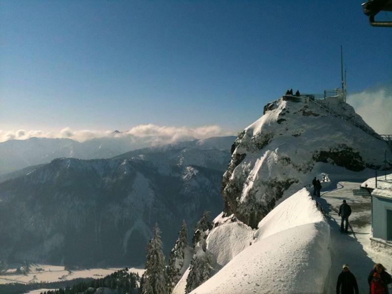 Blick vom Wendelstein nach Südwesten - © bergeandmore