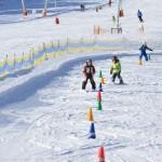 Skiurlaub mit Kindern in der Skischule von Michi Gerg - © Brauneck Bergbahn Foto: Hubert Walther