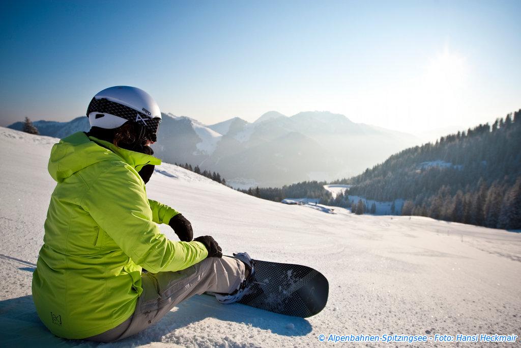 Talabfahrt Skigebiet Spitzingsee