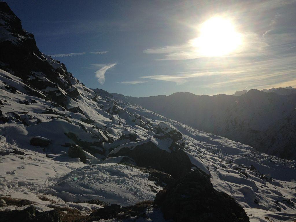 Ganz oben in Hochfügen am Pfaffenbühel (2431 m) - © bergeandmore