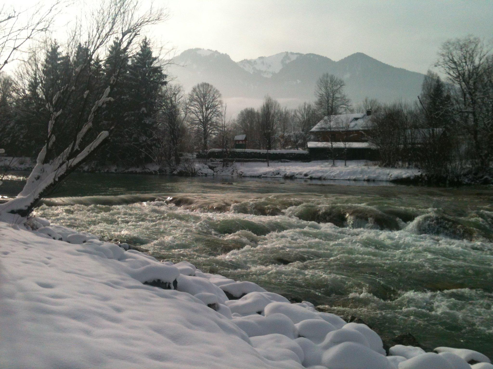 Isar-Wasserfall