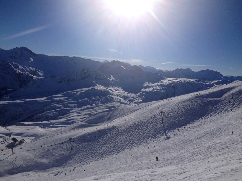 Les Contamines Skigebiet