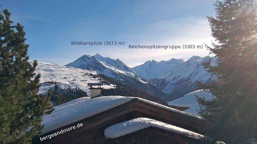 Blick von Königsleiten (1600 m)
