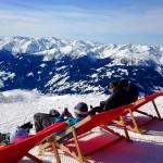 Blick Richtung Zillertal vom Skigebiet bei Zell