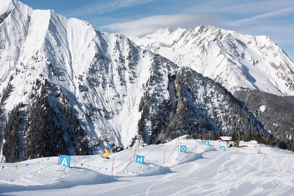 Skigebiet Ahorn Funslope - © Mayrhofner Bergbahnen, Foro:: Frank Bauer