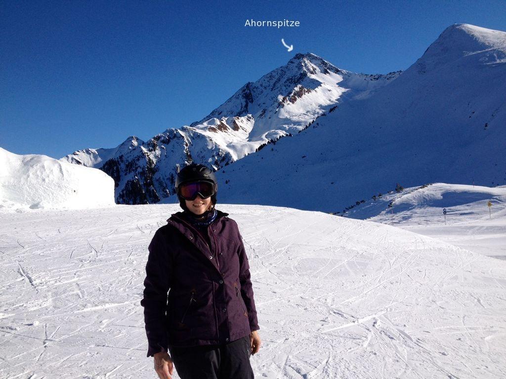 Skigebiet Mayrhofen Ahorn - Im Hintergrund Ahornspitze