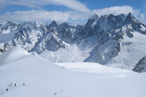 Vallée Blanche in Chamonix
