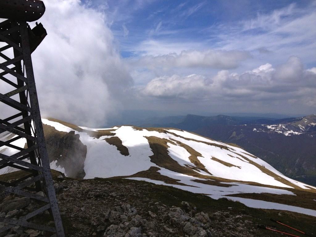 Am Gipfel des Reculet (1718m)