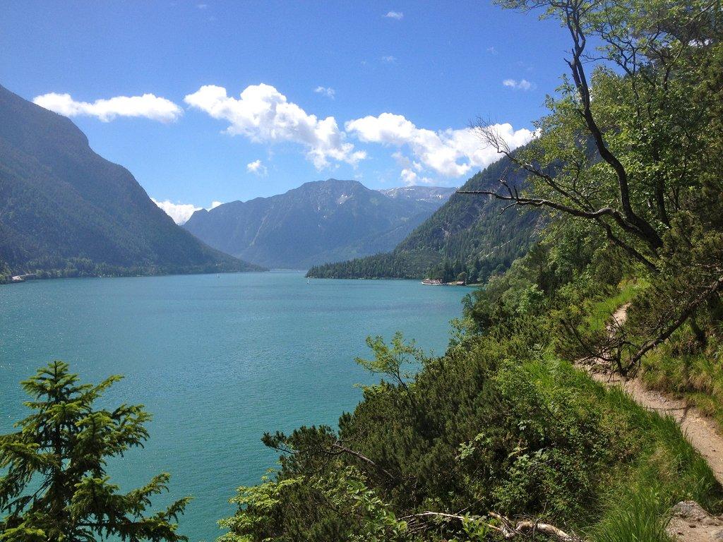 Mariensteig am Achensee bei Achenkirch in Tirol